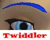 Tricky Eyebrows Blue
