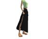 Layerable long skirt