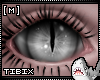 [M] Reptile Eyes White