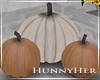 H. Fall Pumpkin Decor