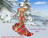 Christmas Gift Wrap Gown