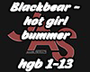hot girl bummer