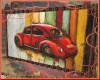 Frame 3D Beetle car