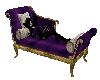 Purple gold lounge