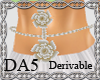(A) Flowers Belly Chain