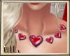 Valentines Heart necklac