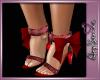 lASlBow heels glittz