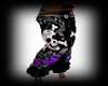 -Love Skull Pants-F