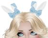 Child Bunny Love Blue Ea
