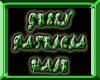 *green patricia hair