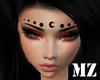 MZ Luna  Face Ornament