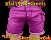 *ZD* Kids Pink Shorts