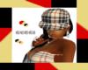 Gucci burberry cap