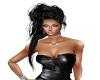 Hair Black Elegant
