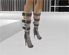 Gray Mono Boots
