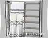 H. Modern Towel Rack