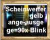 HB Gelber Scheinwerfer