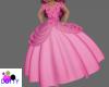pink kid barbie gown