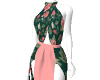 fDevines Floral  gown