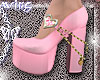 w. Doll Shoes Pink
