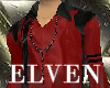 ELVEN Club Red Rosary