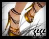 [GG]Strappy Heels Gold