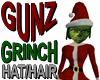 @ Grinch Hat w/ Hair