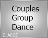 C couples group dance