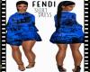 ::FENDI:: Shirt Dress[B]