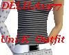 Uni-K Outfit Wt/gry/blk