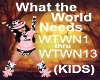 (KIDS) What the world