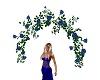 blue rose arch