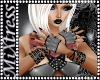 L~ Vixen Grey Gloves