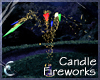 Candle Fireworks - Multi