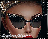 *Mai Black Glasses