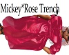 Mickey*Rose Trench*