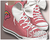 [Is] Sneakers Pink Bow