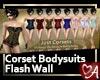 .a Flash Bodysuits Wall