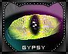 Green Cat Eyes Unisex