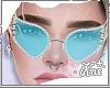 Blue Studded Glasses