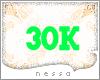 !N! 30K SUPPORT STICKER