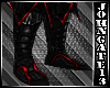 Vampire Red Armour Boots