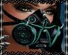 Gothic mask blue V1