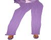Elegant Purple Suede