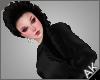 ~AK~ Fishtail: Black