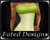 *FD*Duets Dress Green