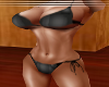 black marble bikini