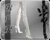 [BIR]White thigh boots