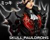 ! Dark Skull Pauldrons
