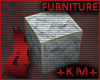 +KM+ White Marble Block